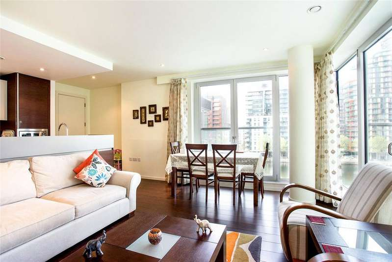 2 Bedrooms Flat for sale in 12, Baltimore Wharf, Canary Wharf, London, E14