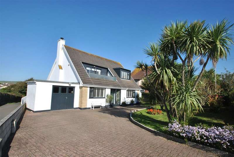 4 Bedrooms Detached House for sale in Ocean View Road, Bude