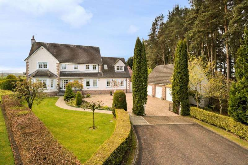 5 Bedrooms Detached Villa House for sale in Highlandman Station, Crieff PH7