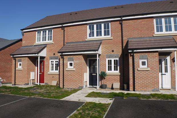 2 Bedrooms Terraced House for sale in Heatherley Grove, Wigston, Leicester, LE18