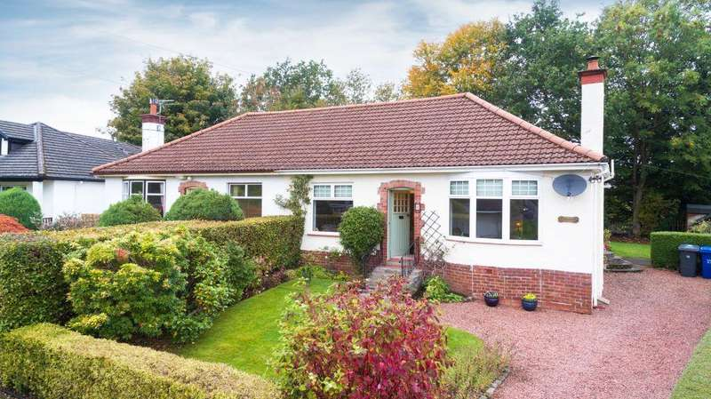 3 Bedrooms Semi Detached Bungalow for sale in Greenbank, Lintwhite Crescent, Bridge Of Weir, PA11 3LJ