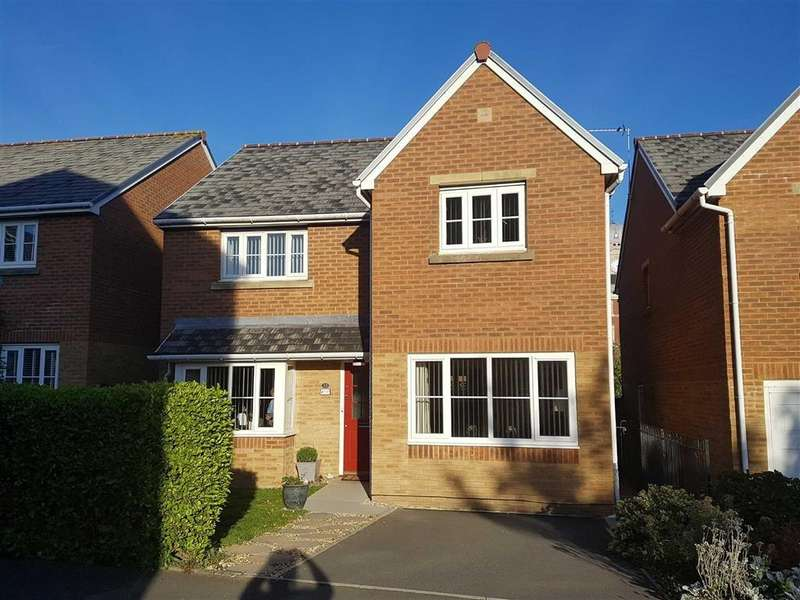 4 Bedrooms Detached House for sale in Clos Tyniad Glo, The Waterfront, Barry