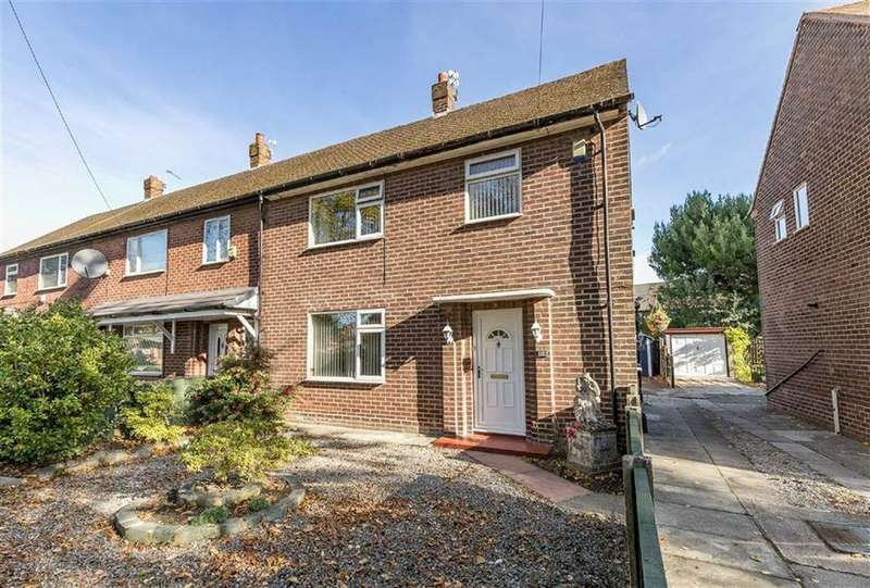 3 Bedrooms End Of Terrace House for sale in Sledmoor Road, Manchester