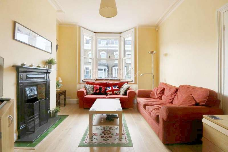 3 Bedrooms Terraced House for sale in Leathwell Road, London, SE8