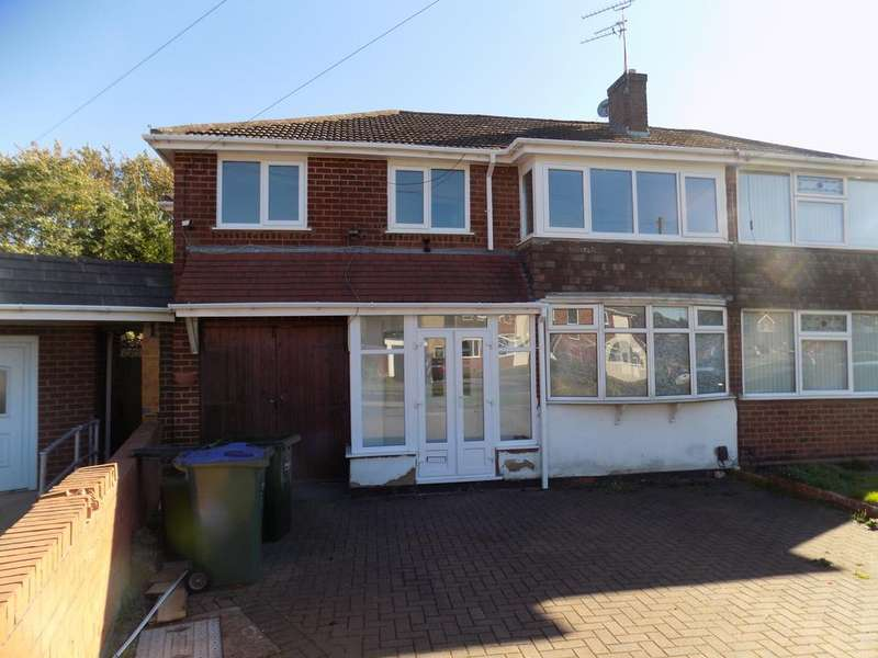 4 Bedrooms Semi Detached House for sale in Theodore Close, Oldbury, West Midlands B69