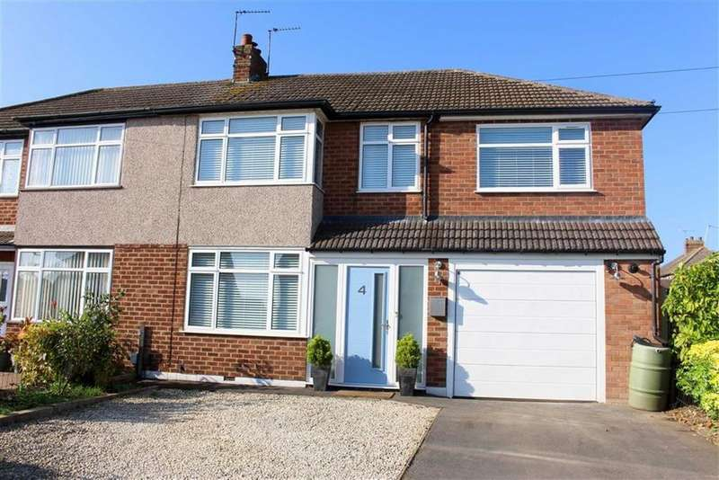 4 Bedrooms Semi Detached House for sale in Chandlers Road, Whitnash, CV31