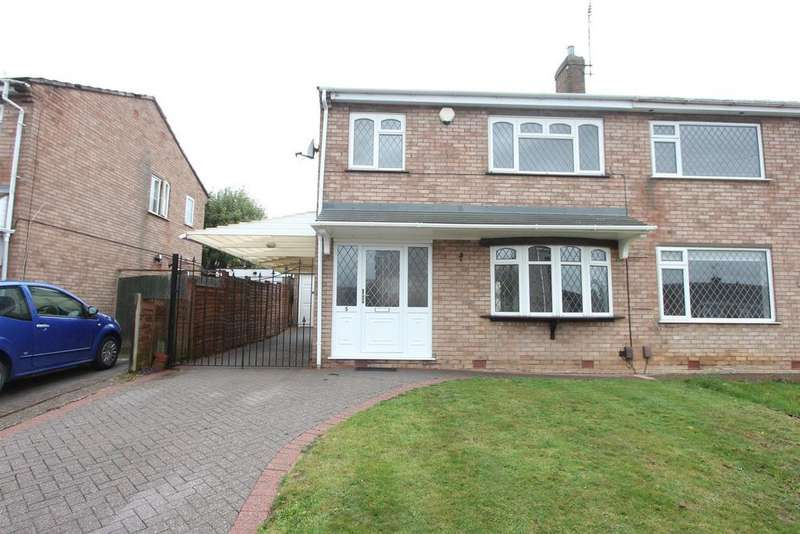 3 Bedrooms Semi Detached House for sale in Begonia Drive, Burbage