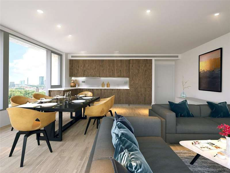 2 Bedrooms Apartment Flat for sale in Onyx Apartments, Camley Street, Kings Cross, London, N1C