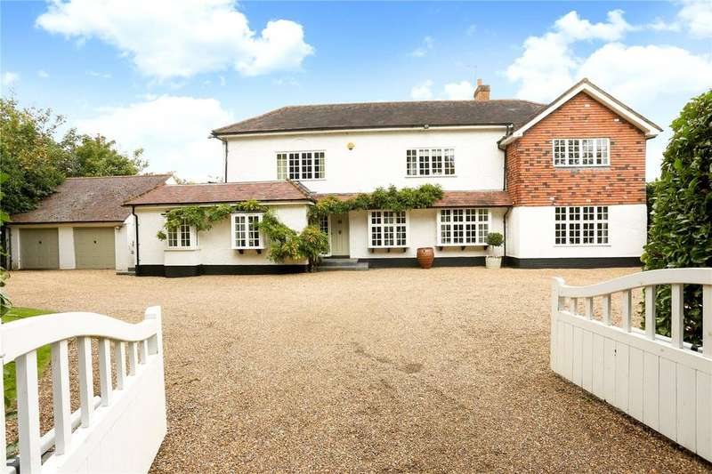 5 Bedrooms Detached House for sale in Magna Carta Lane, Wraysbury, Staines-upon-Thames, Middlesex, TW19
