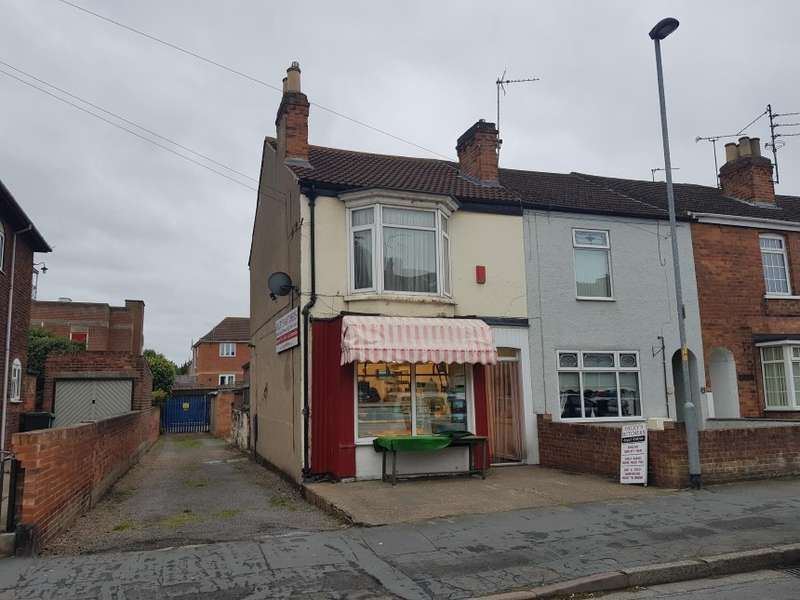 End Of Terrace House for sale in Oxley's Butchers, 58 Melrose Road, Gainsborough, Lincolnshire