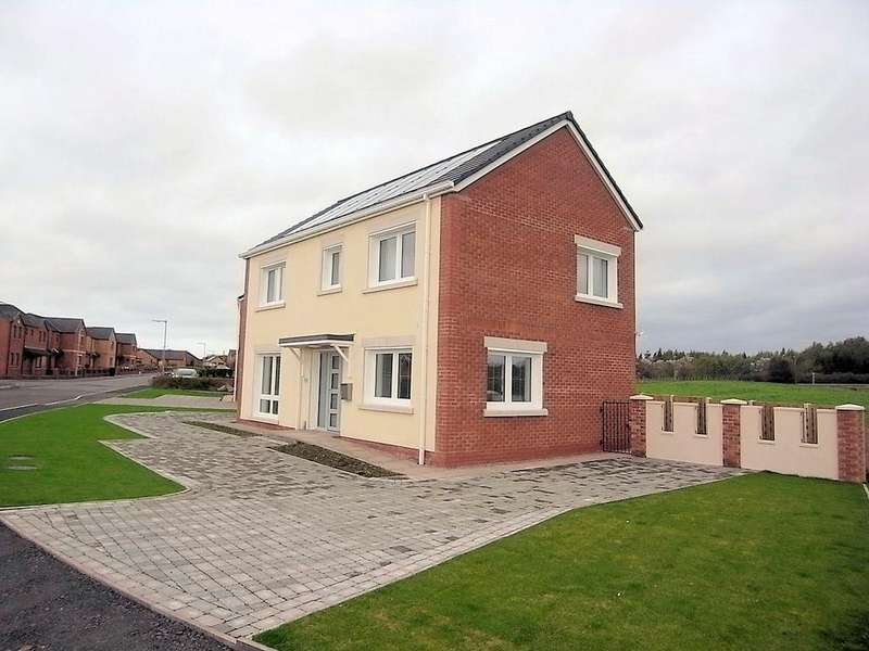 3 Bedrooms Detached House for sale in 101 The Hawthorns, Gretna, DG16