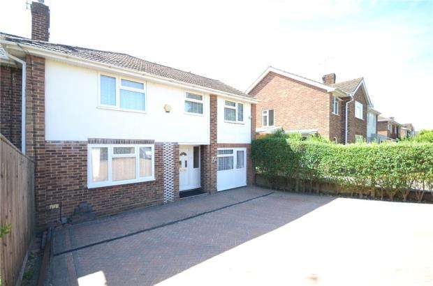 4 Bedrooms Semi Detached House for sale in Fairford Road, Tilehurst, Reading