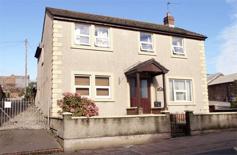 4 Bedrooms Detached House for sale in CA7 3BE Queen Street, Aspatria, Wigton, Cumbria