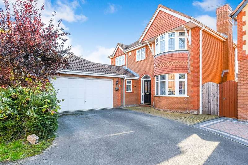 4 Bedrooms Detached House for sale in Bowen Close, Widnes, WA8