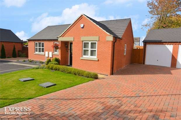 3 Bedrooms Detached Bungalow for sale in Tomlinson Close, Newton, Alfreton, Derbyshire