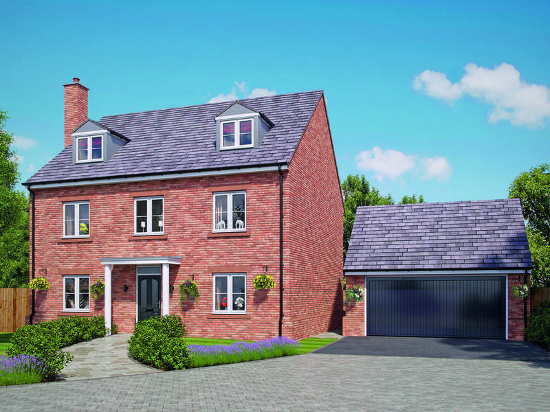 5 Bedrooms Detached House for sale in Church Street, Davenham, Northwich