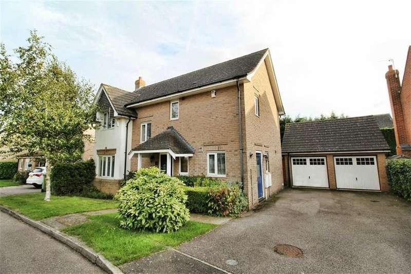 4 Bedrooms Detached House for sale in Thrupp Close, Castlethorpe, Milton Keynes, MK9