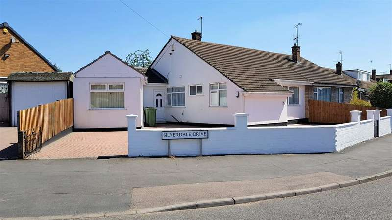 3 Bedrooms Bungalow for sale in Silverdale Drive, Leicester LE4