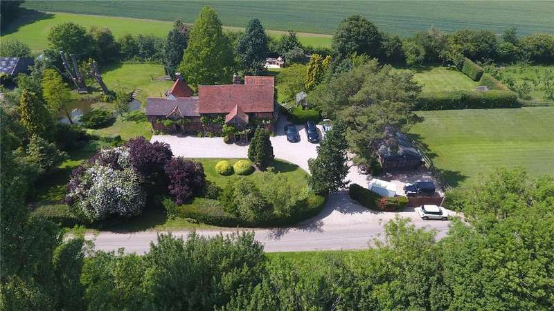 6 Bedrooms Detached House for sale in Naughton, Nr Ipswich, Suffolk, IP7
