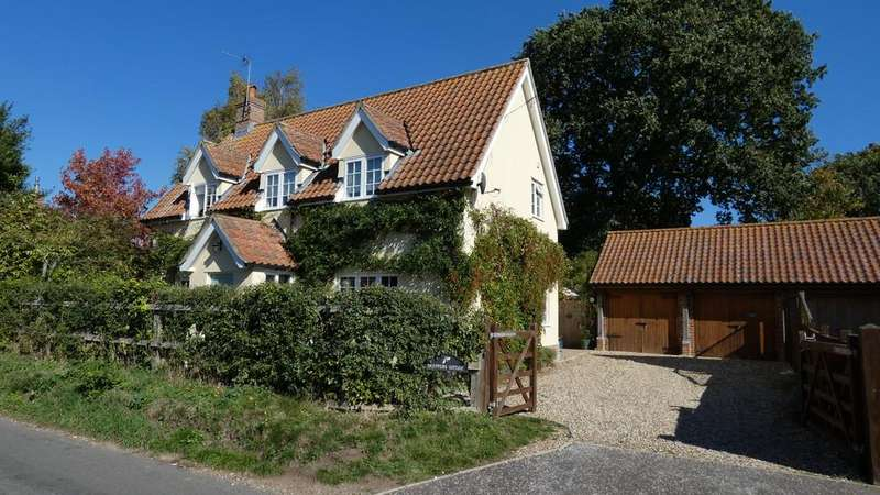 5 Bedrooms Cottage House for sale in The Street, Woodton, Suffolk