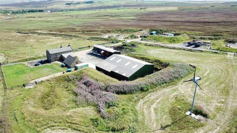 3 Bedrooms Detached House for sale in Earnshaw Hole Farm, Dukes Cut, Long Causeway, Blackshaw Head, HX7 7JA