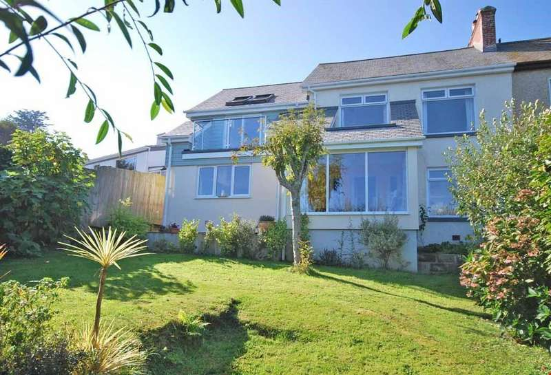 4 Bedrooms Semi Detached House for sale in Newlyn, Nr. Penzance, Cornwall, TR18