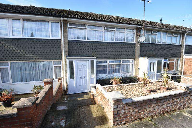3 Bedrooms Terraced House for sale in Porlock Drive, Luton