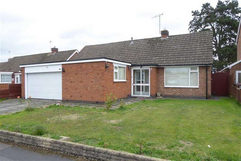 3 Bedrooms Detached Bungalow for sale in Grangefields Drive, Rothley