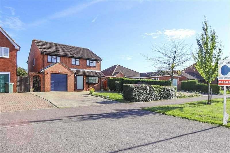 4 Bedrooms Detached House for sale in Blackmoor Gate, Furzton, Milton Keynes