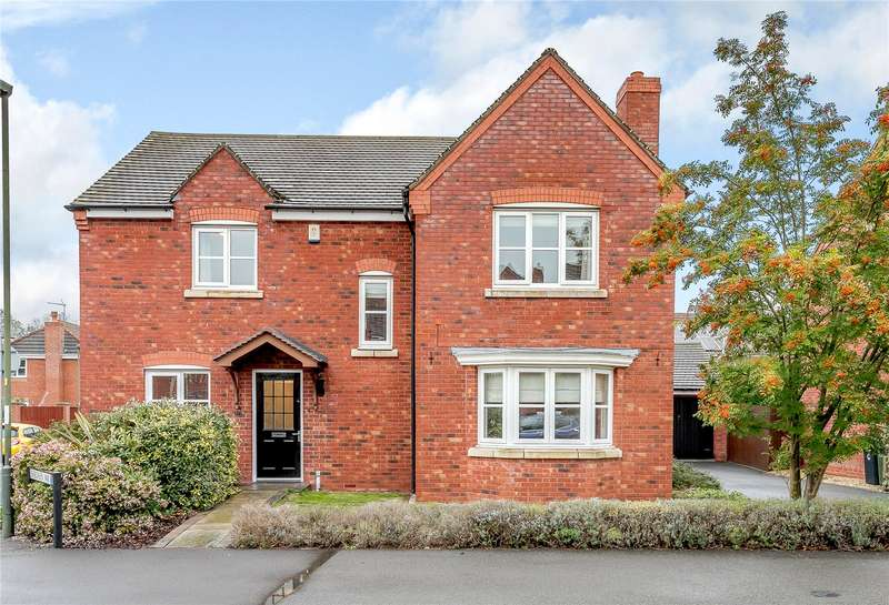 4 Bedrooms Detached House for sale in 57 Evergreen Way, Stourport-on-Severn, DY13