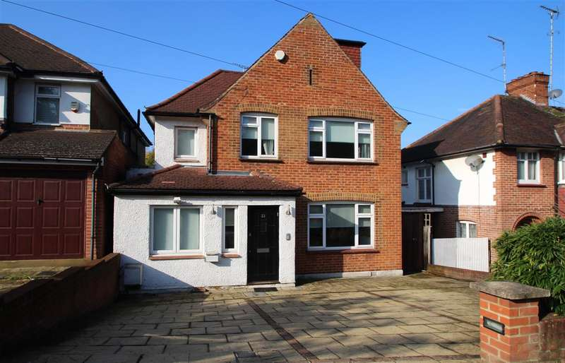 4 Bedrooms Detached House for sale in Glenwood Road, Mill Hill