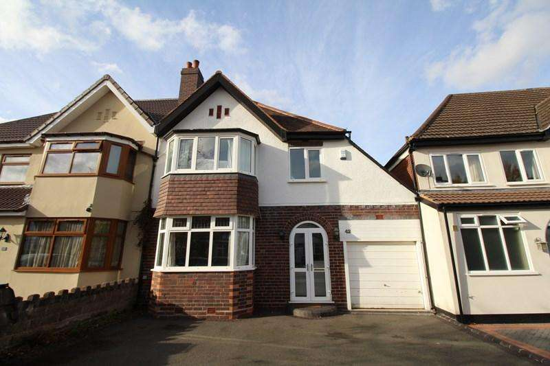 3 Bedrooms Semi Detached House for sale in Ingestre Road, Hall Green, Birmingham
