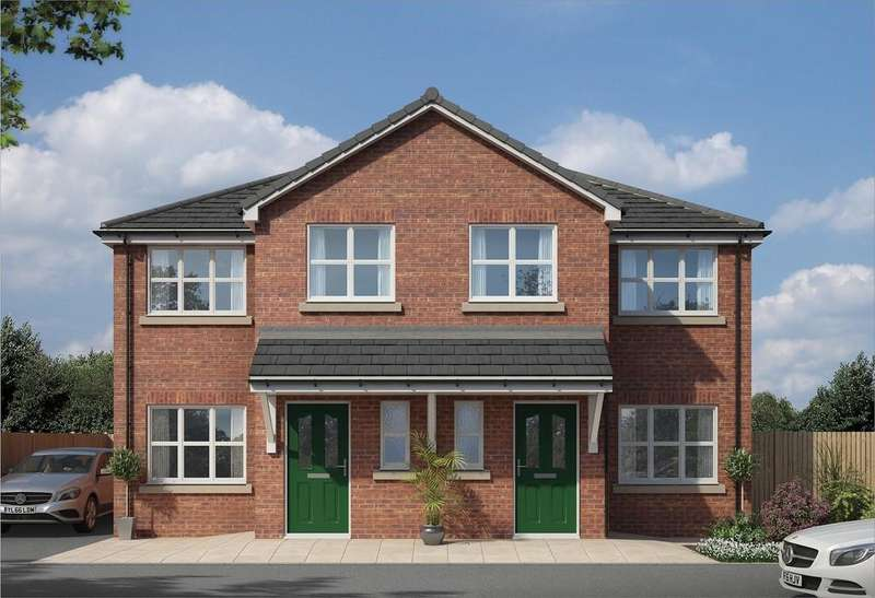 3 Bedrooms Semi Detached House for sale in Plot 4 Clock Tower View