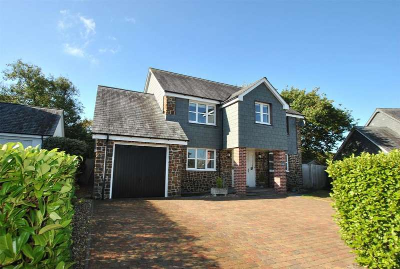 4 Bedrooms Detached House for sale in Ashbury Grove, Week St. Mary