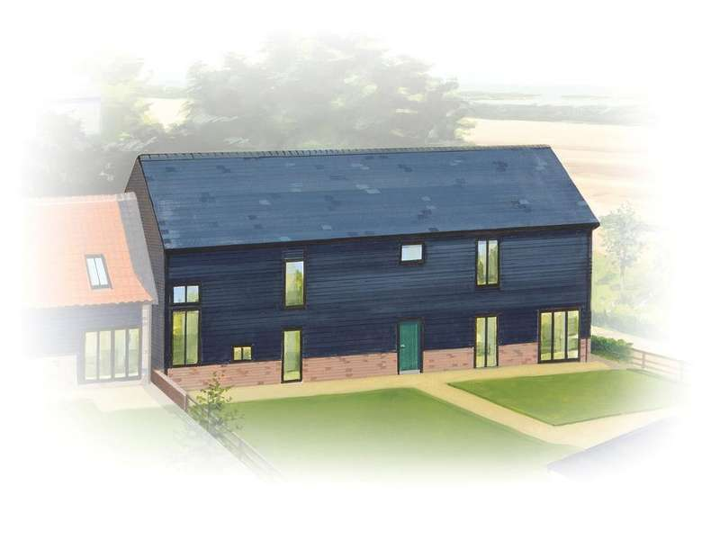 5 Bedrooms Semi Detached House for sale in Dotterell Hall Barns, Balsham, Cambridge, CB21