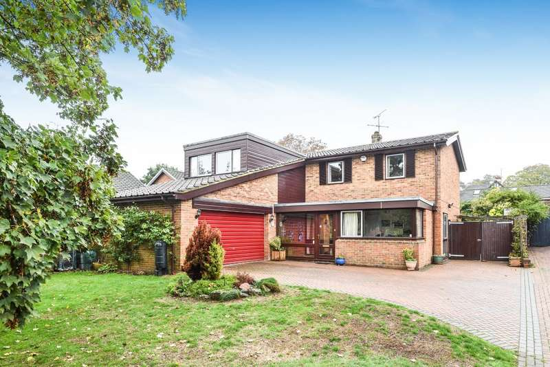 5 Bedrooms Detached House for sale in Bayliss Road, Wargrave, RG10