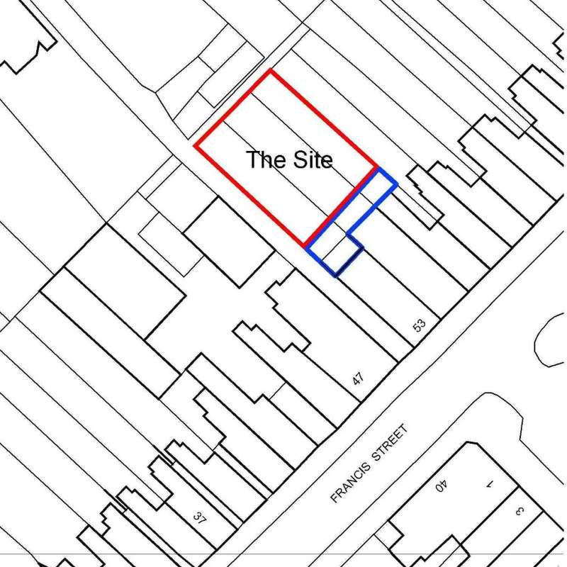 Land Commercial for sale in Land to the Rear of, 53 Francis Street, Leicester, Leicestershire