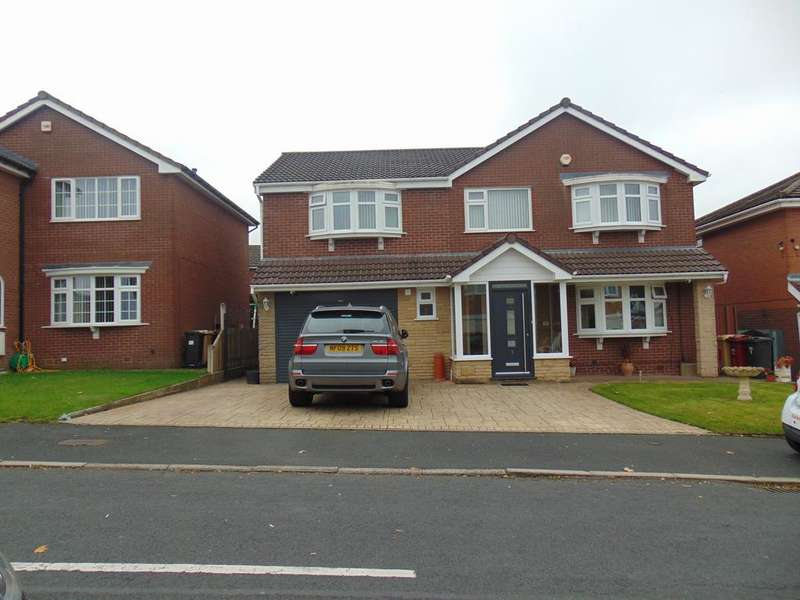 5 Bedrooms Detached House for sale in Crossford Drive, Bolton BL3