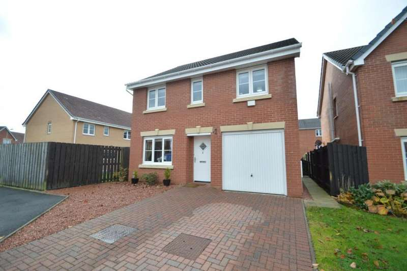 4 Bedrooms Detached House for sale in Clonbeith Court, Kilwinning, North Ayrshire, KA13 7PU