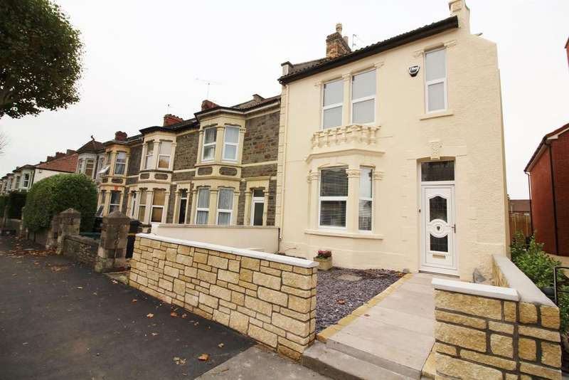 4 Bedrooms End Of Terrace House for sale in Staple Hill Road, Bristol, BS16 5BT