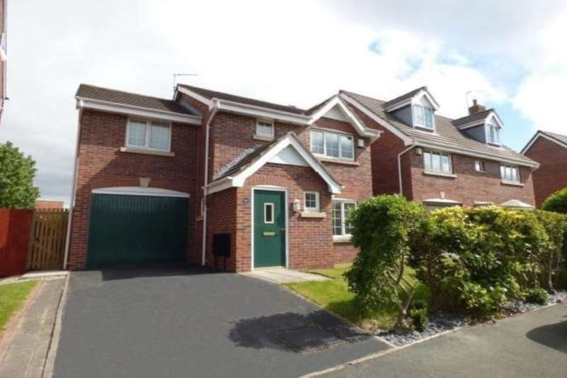 4 Bedrooms Detached House for sale in Bearwood Way, Thornton-Cleveleys, FY5