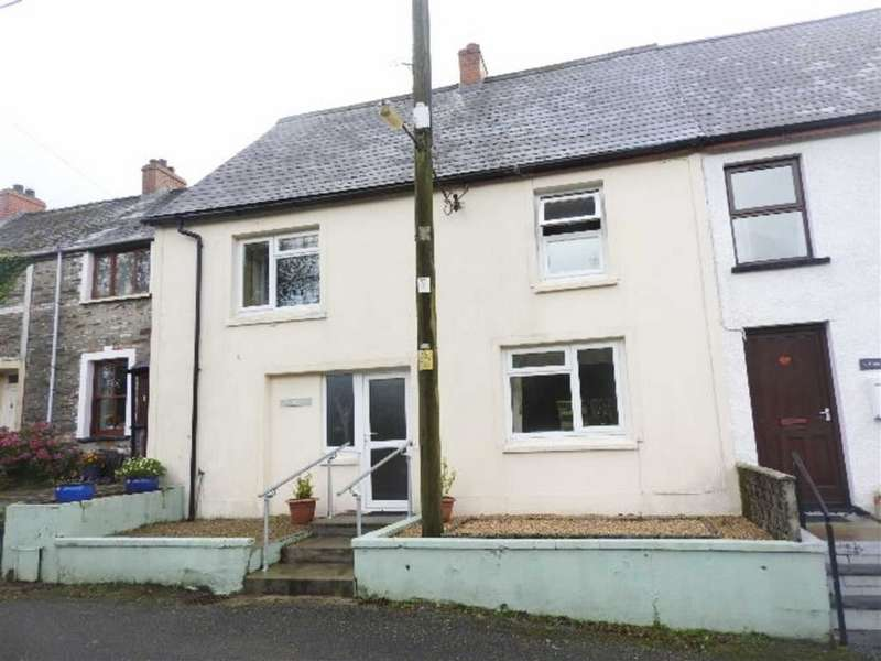 3 Bedrooms Terraced House for sale in GLOGUE, Crymych