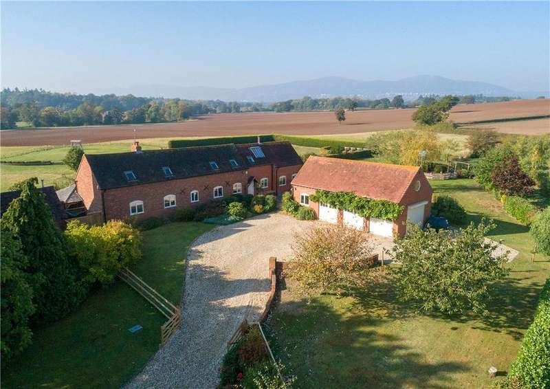 4 Bedrooms Detached House for sale in Upton Road, Clevelode, Malvern, Worcestershire, WR13