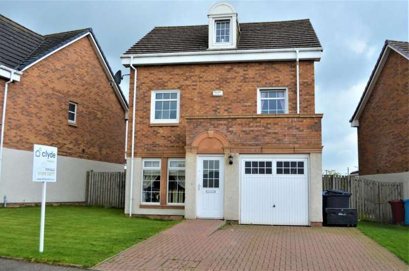 4 Bedrooms Detached House for sale in Provost Crescent, Larkhall, South Lanarkshire, ML9 3GE
