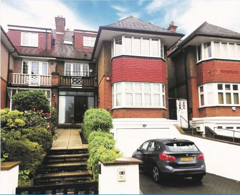 5 Bedrooms House for sale in Finchley Road, London, NW11
