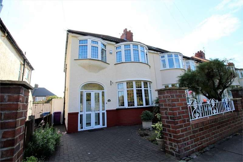 3 Bedrooms Semi Detached House for sale in Thomas Drive, LIVERPOOL, Merseyside