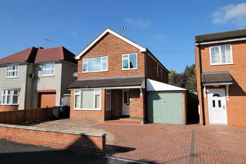 4 Bedrooms Detached House for sale in Knoll Street, Market Harborough