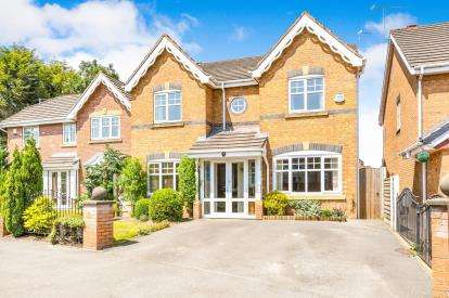 4 Bedrooms Detached House for sale in Gleneagles Close, Lowton, Warrington, Greater Manchester