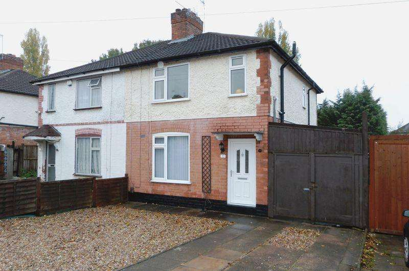 3 Bedrooms Semi Detached House for sale in Northfield Avenue, Wigston, Leicestershire.
