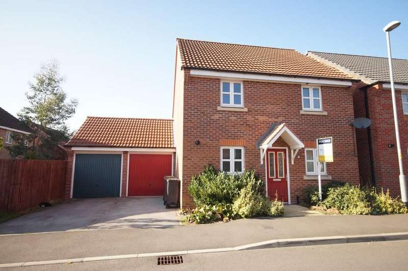 3 Bedrooms Detached House for sale in Maximus Road, North Hykeham